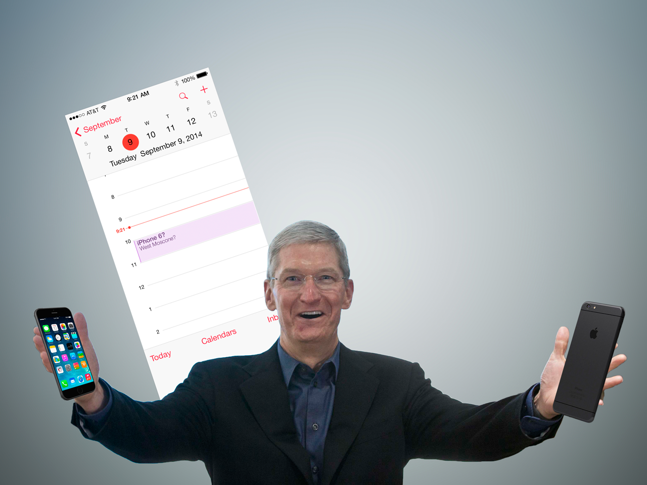 iPhone 6 (September 9 Tim Cook teaser, Recode 001)