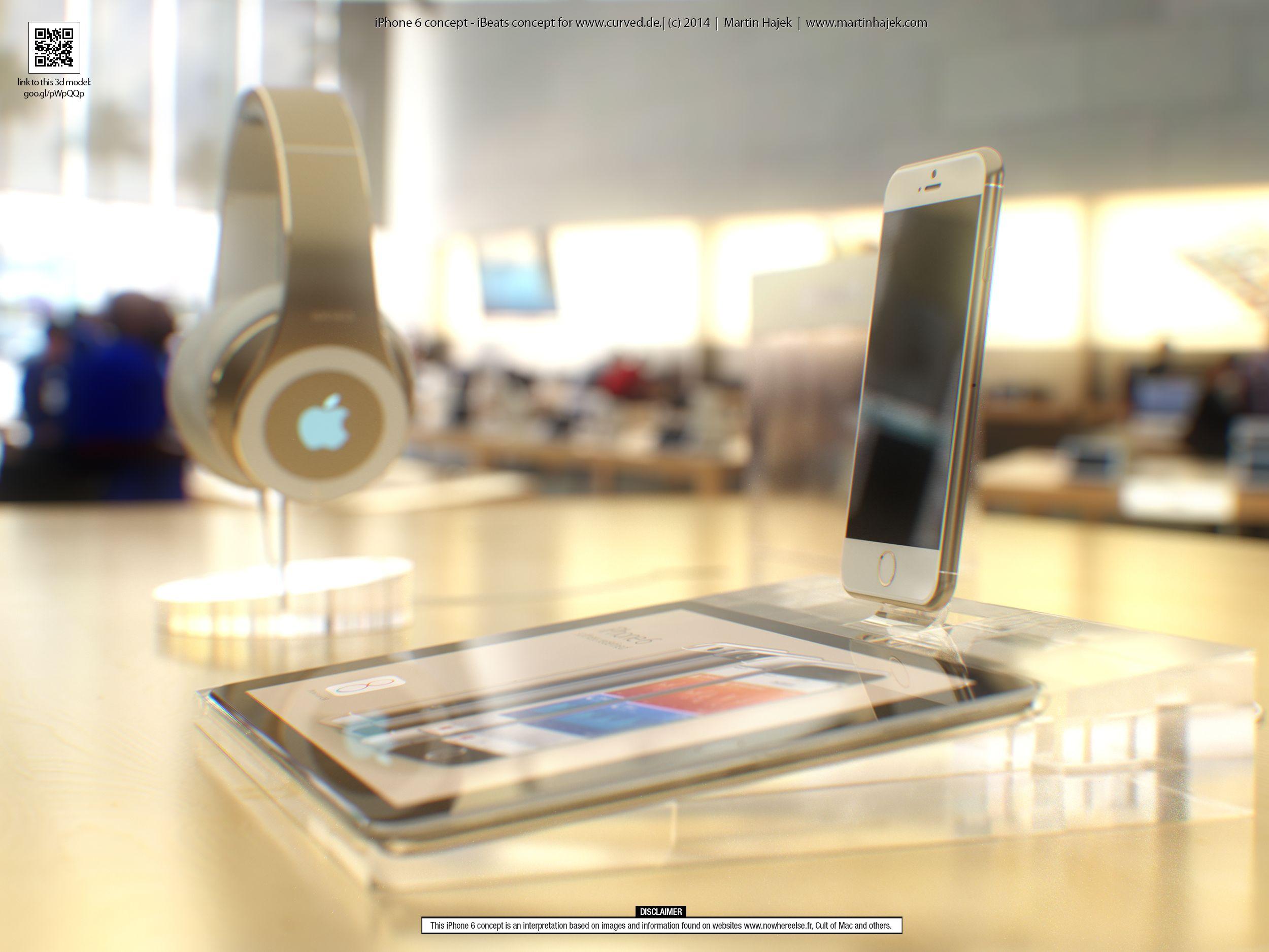 iPhone 6 concept (Apple Store, Martin Hajek 001)