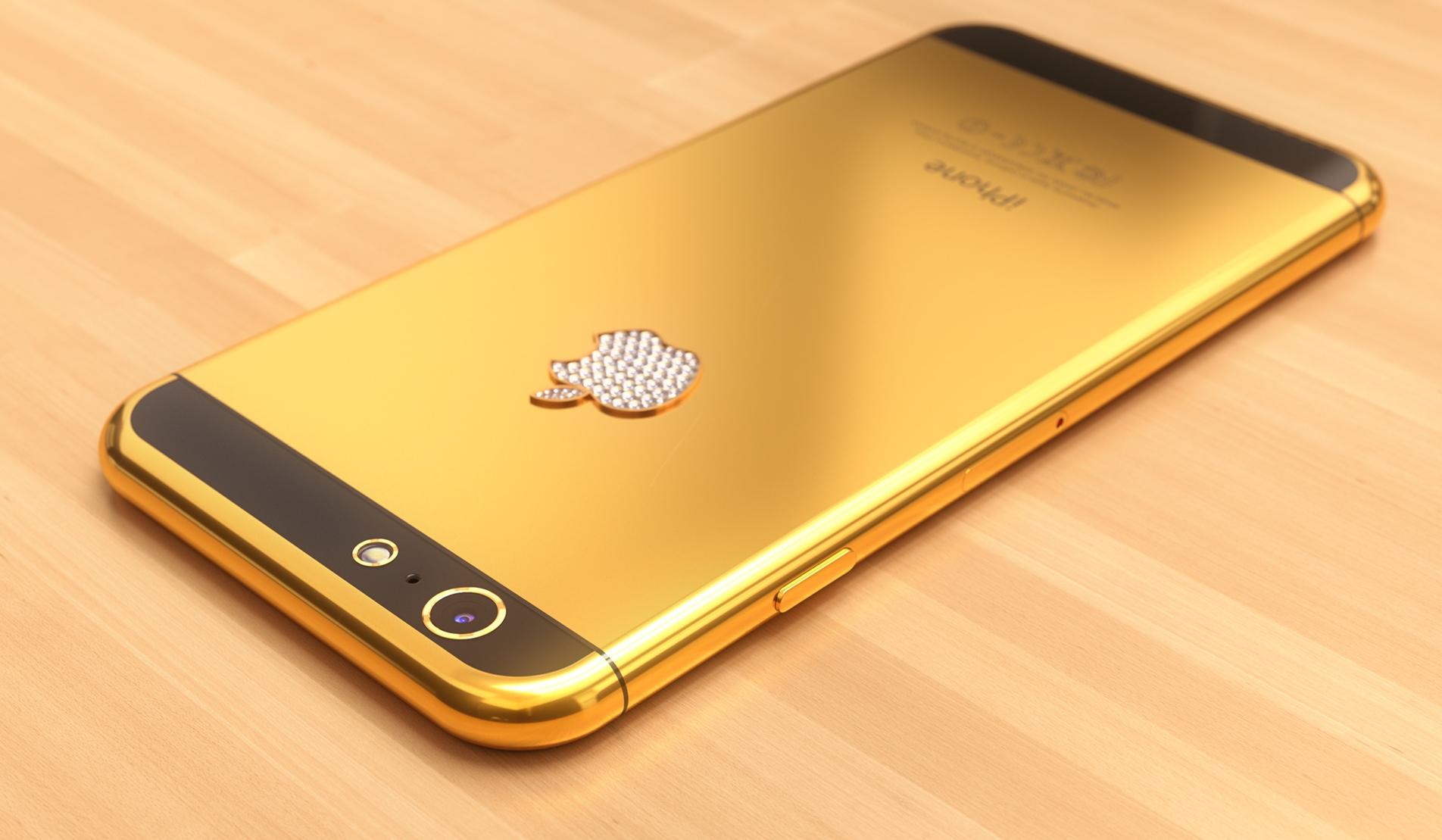 iPhone 6 concept (gold, Martin Hajek 001)