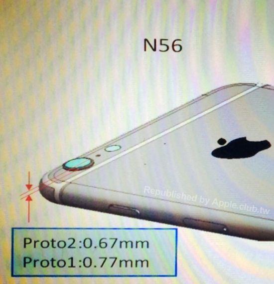 iPhone 6 (protruding camera lens, AppleClub.tw 001)