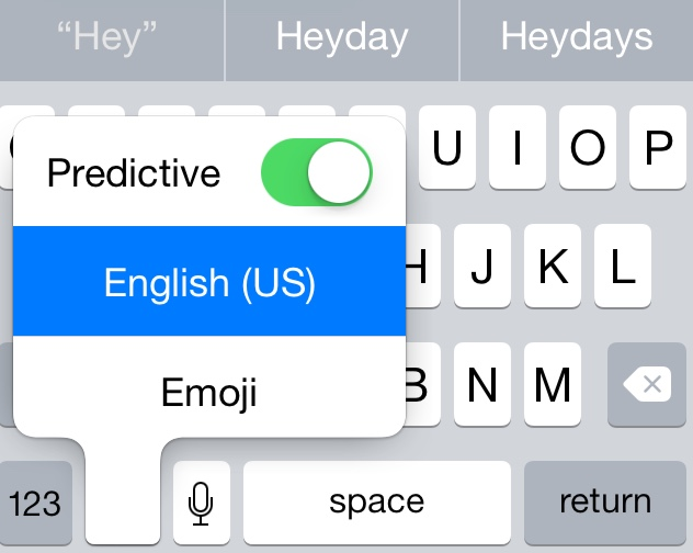 keyboard-Predictive-toggle