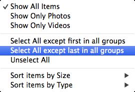 select duplicate photos