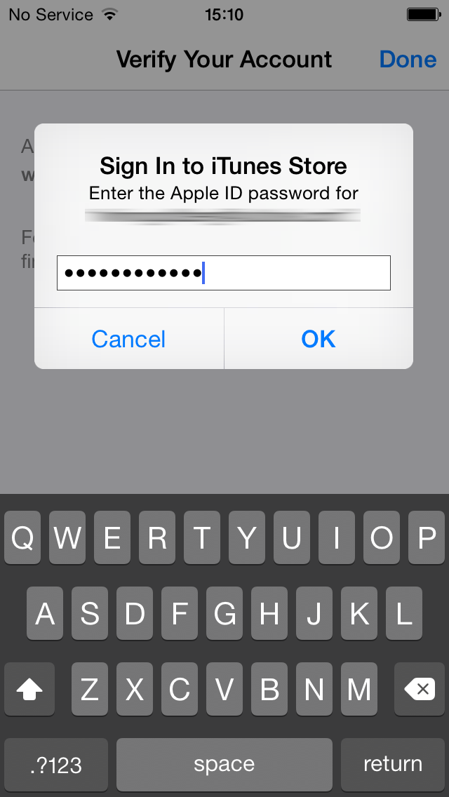 sign in new apple id