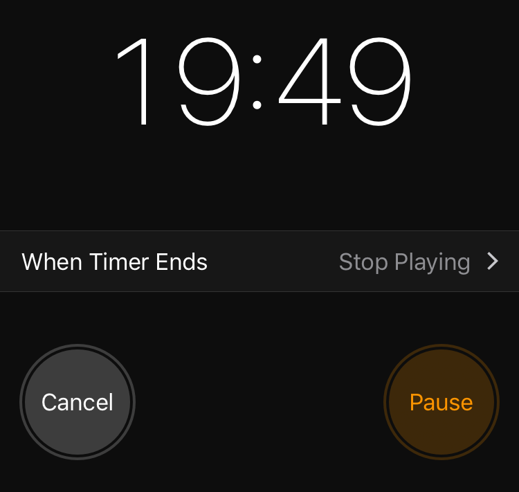 iphone sleep timer how to set a timer to automatically stop or 12323