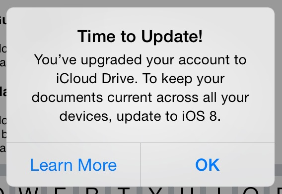 time to update to ios 8