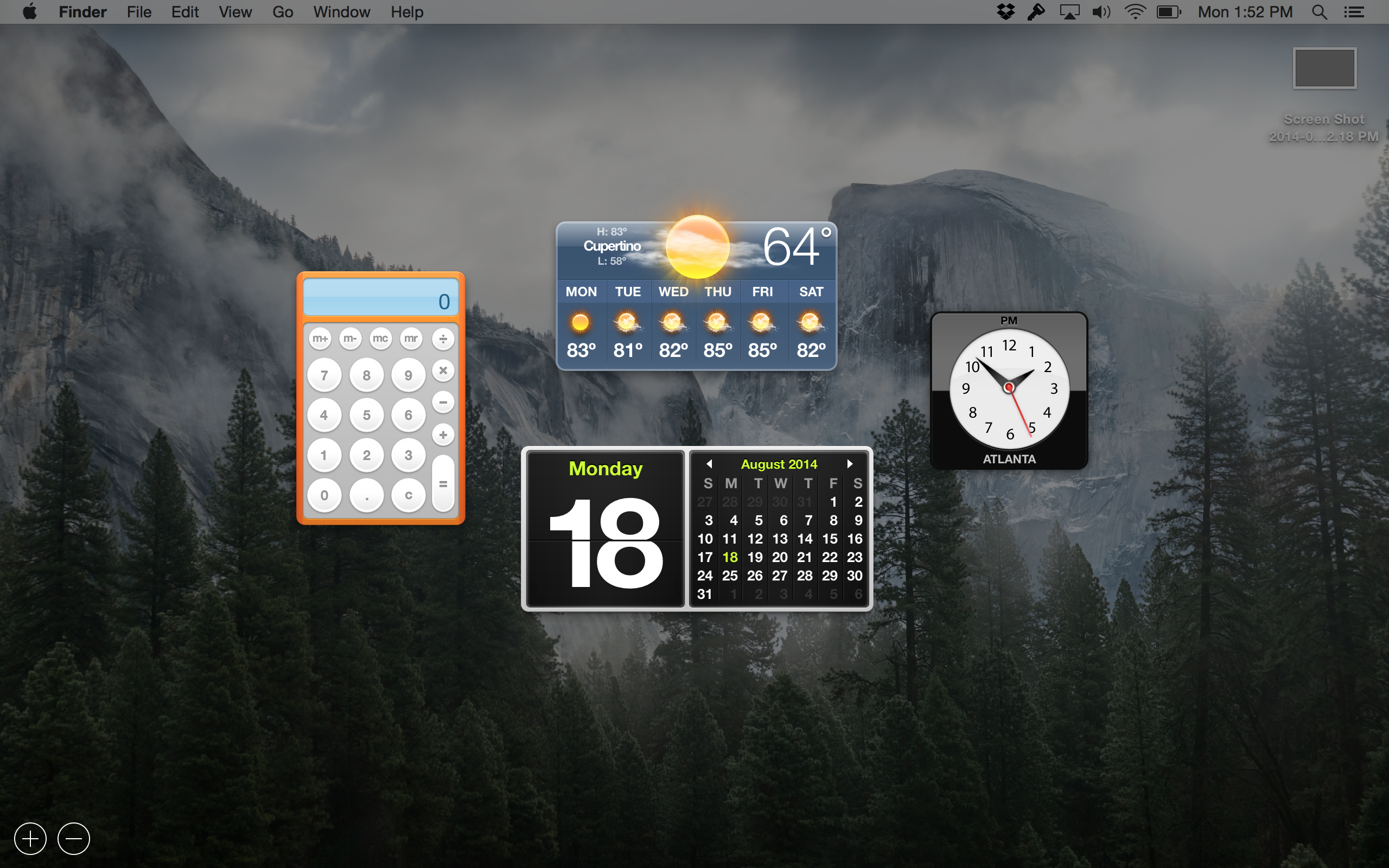 translucent dash yosemite