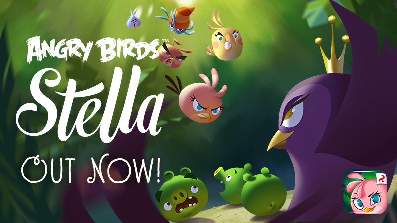 Angry Birds Stella 1.0 for iOS (teaser 001)