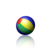 Animated PNG example (Bouncing Beach Ball 001)