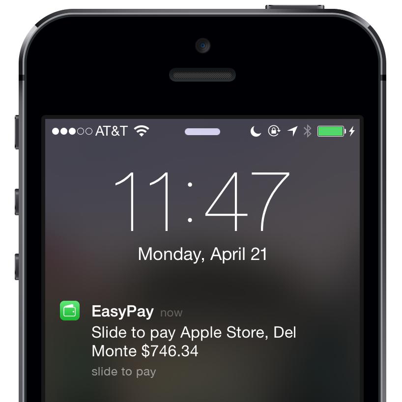Apple EasyPay concept (Ricardo Del Toro 002)