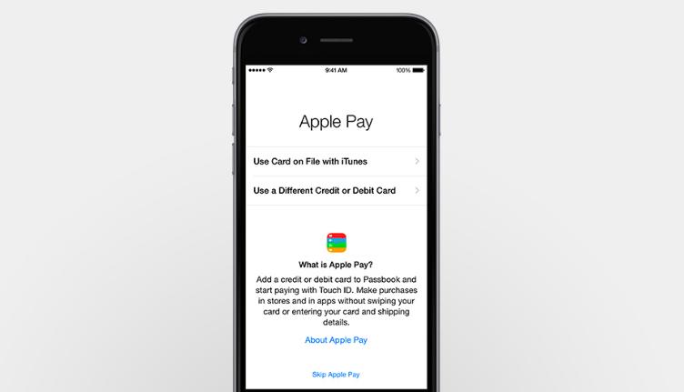 Apple Pay add a card