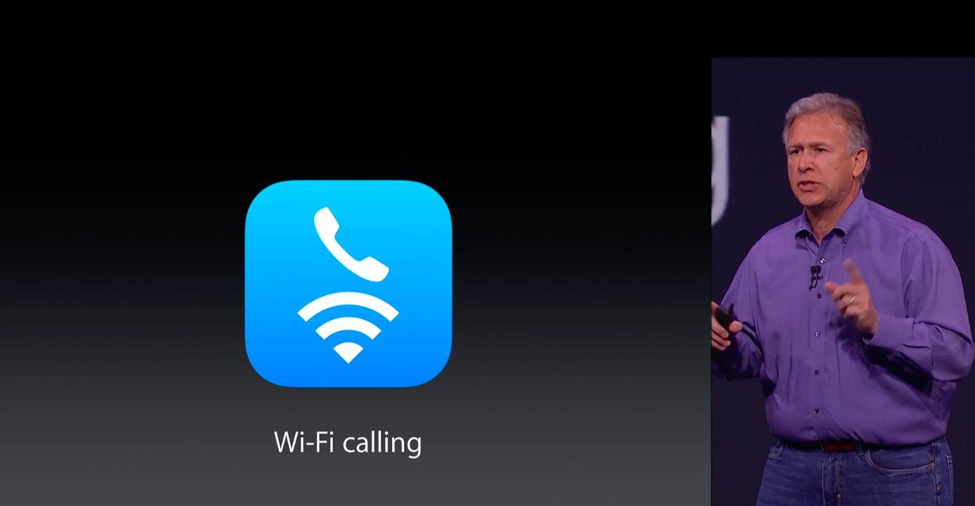 Apple September 2014 event (Wi-Fi Calling 001)