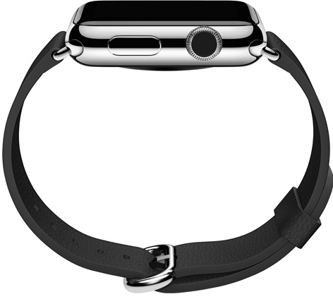 Apple Watch classic buckle side