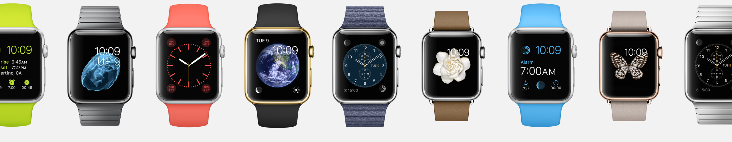 Apple Watch customizability