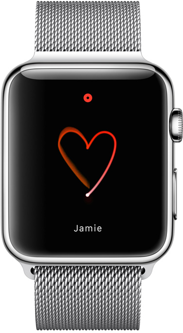 Apple Watch draw