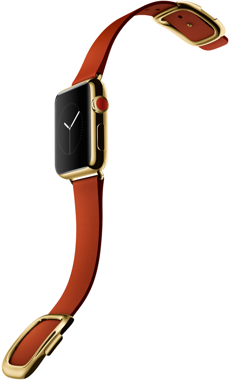 Apple Watch edition gold red buckle