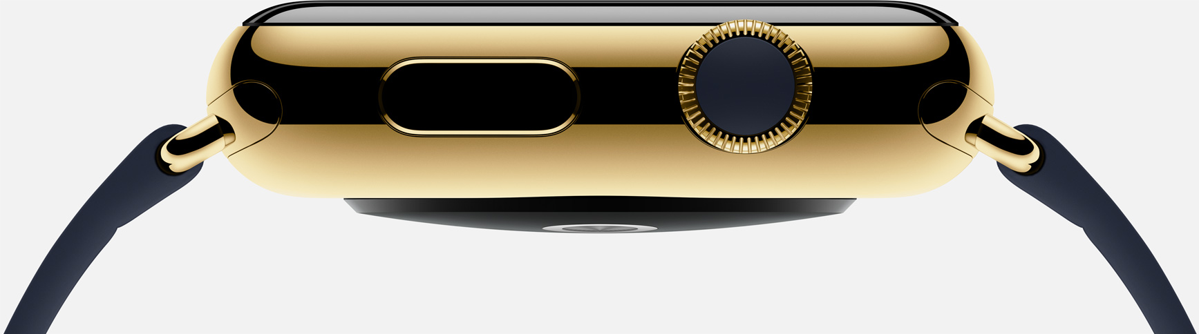Apple Watch edition gold side