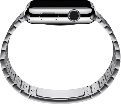 Apple Watch link bracelet side