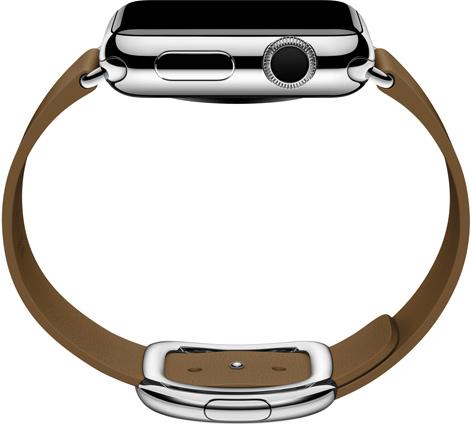 Apple Watch modern buckle side