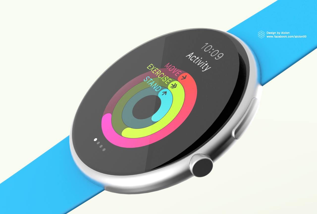 Apple Watch (round concept 001)