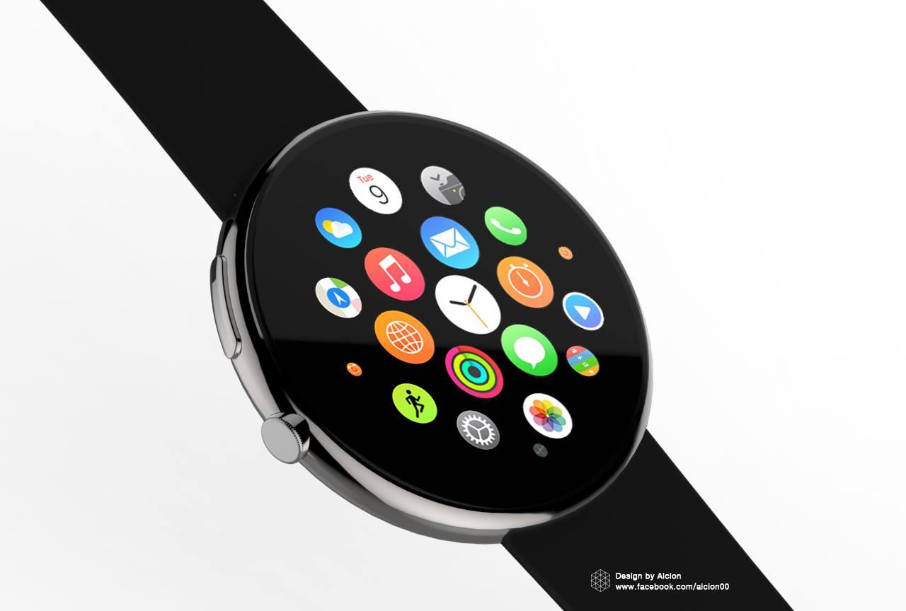 Apple Watch (round concept 002)