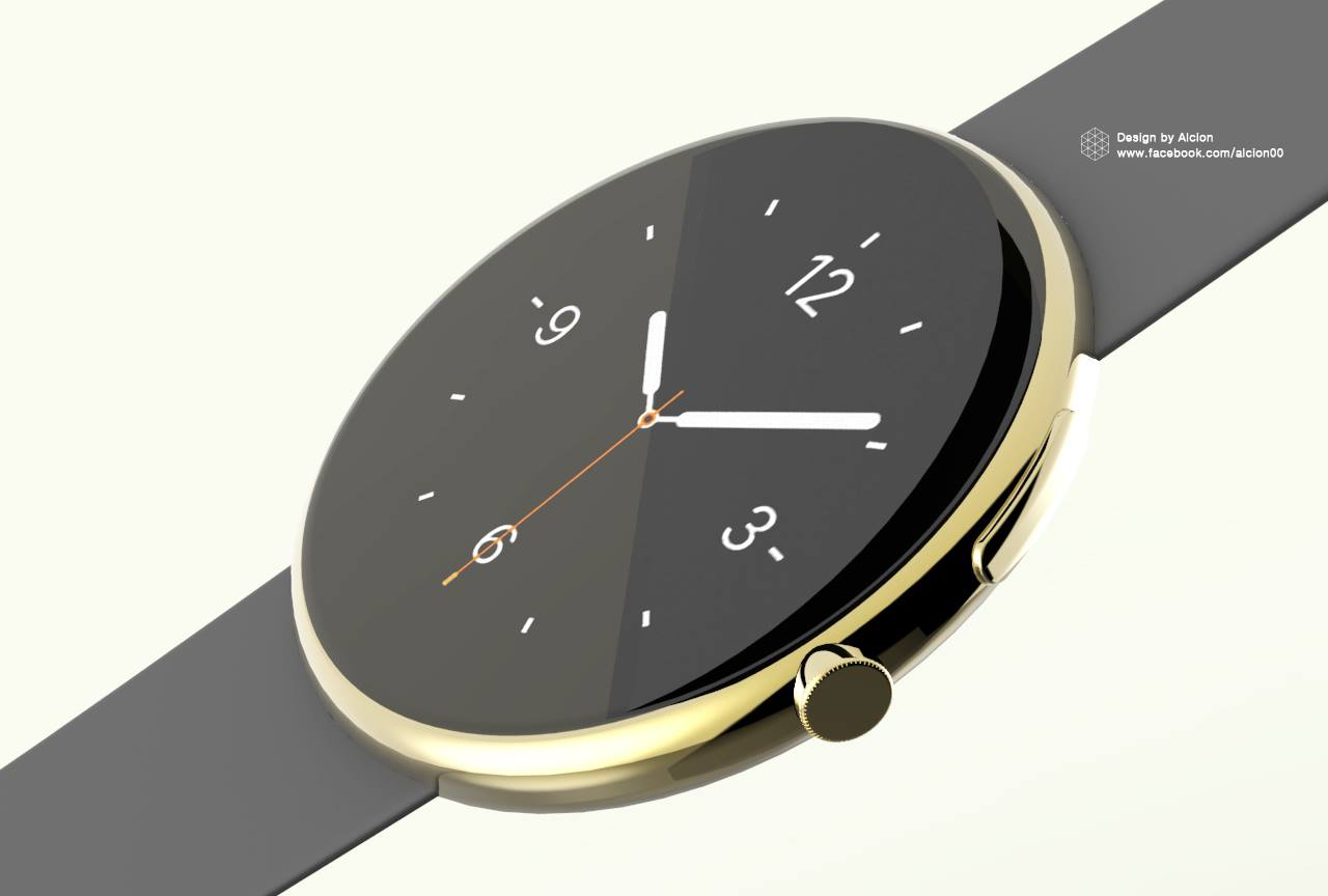 Apple Watch (round concept 003)
