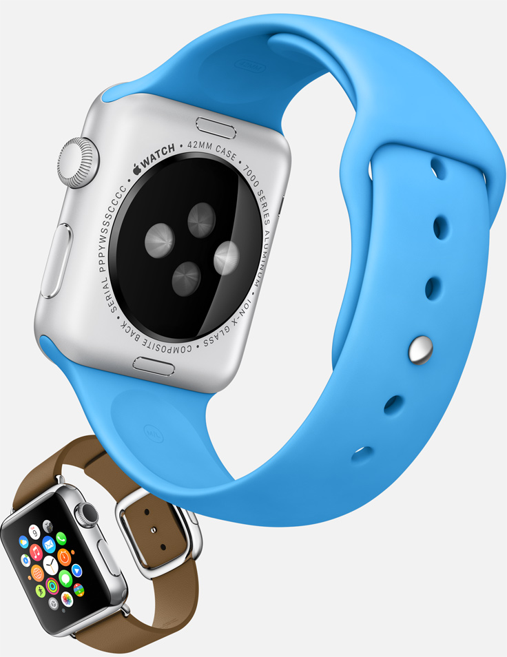 Apple Watch sport blue moder buckle