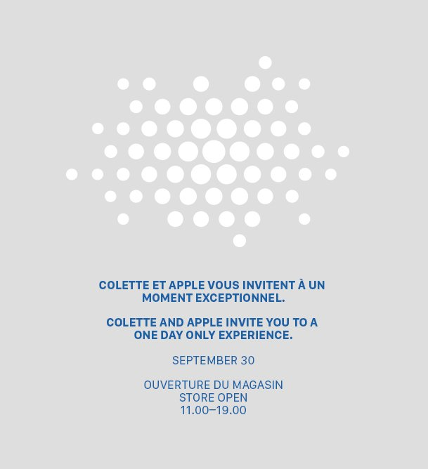 Apple and Colette (invite 001)
