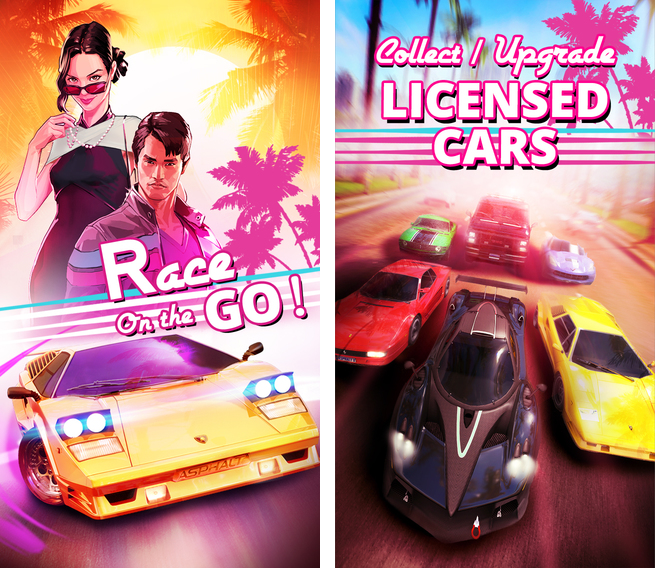 Asphalt Overdrive 1.0 for iOS (iPhone screenshot 001)
