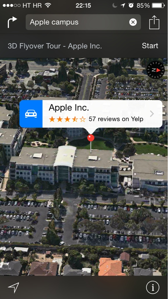 Best iOS 8 features (Apple Maps, Flyover City Tours)