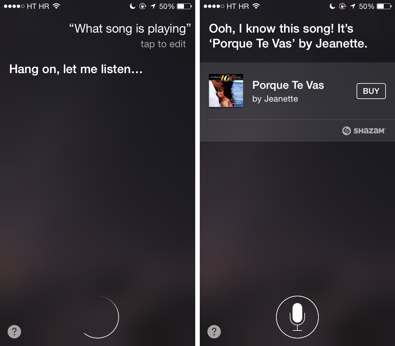 Best iOS 8 features (Siri Shazam integration 001)