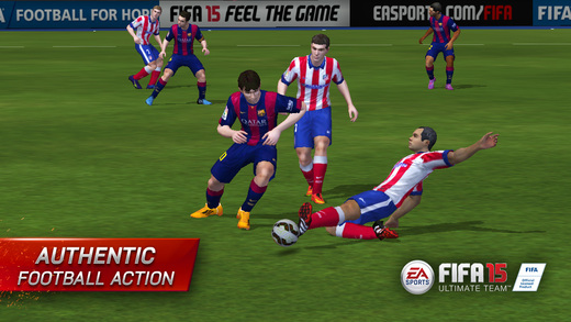 FIFA 15 Ultimate Team 1.0 for iOS (iPhone screenshot 001)