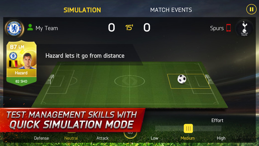 FIFA 15 Ultimate Team 1.0 for iOS (iPhone screenshot 003)