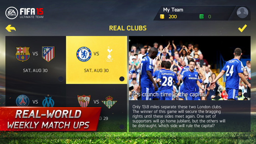 FIFA 15 Ultimate Team 1.0 for iOS (iPhone screenshot 005)