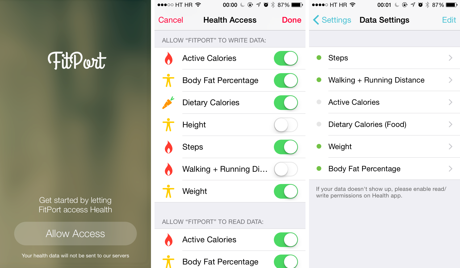 FitPort 1.0 for iOS (iPhone screenshot 003)