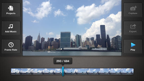 Frameographer 1.52 for iOS (iPhone screenshot 001)