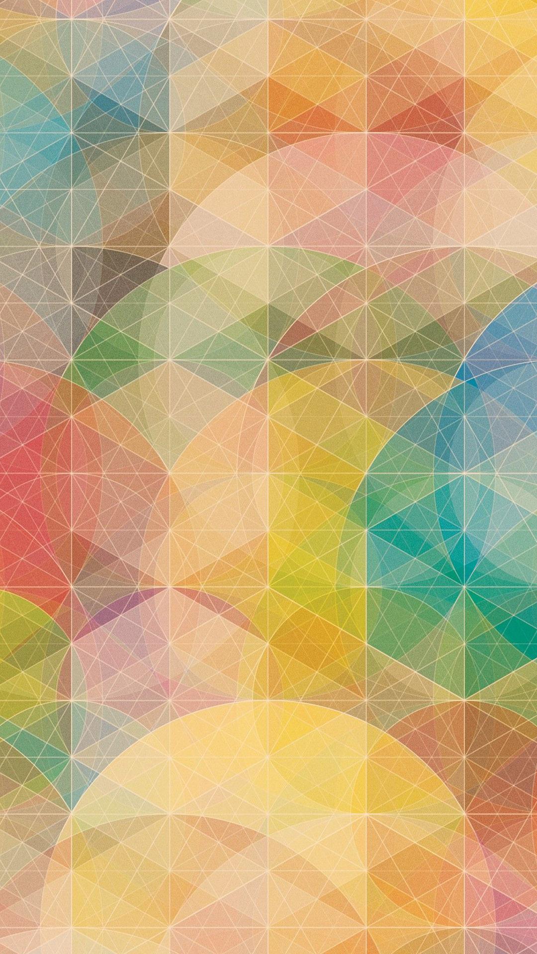 Free Colorful Geometric Wallpaper: IPhone 6 Wallpaper Packs
