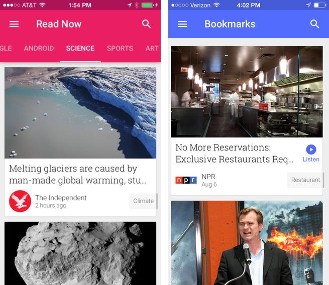Google Play Newsstand 3.0 for iOS (iPhone screenshot 001)