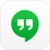 Hangouts 2.2 for iOS (app icon, small)