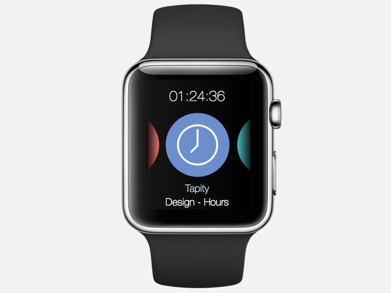 Hours for Apple Watch (mockup 001)