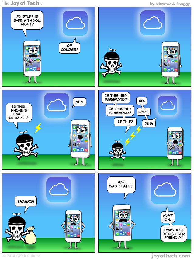 Joy of Tech comic (iCloud nude celeb hack)