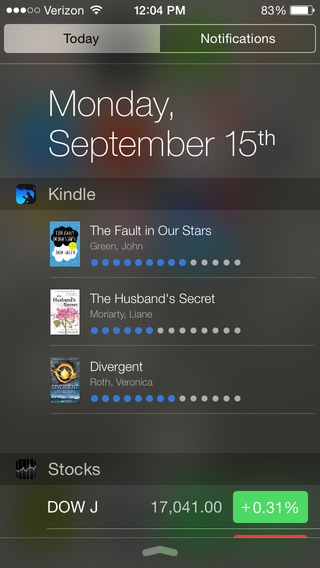 Kindle 4.5 for iOS (iPhone screenshot 001)