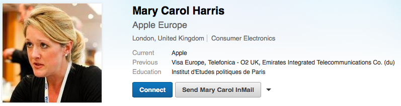 Mary Carol Harris (LinkedIn profile 001)