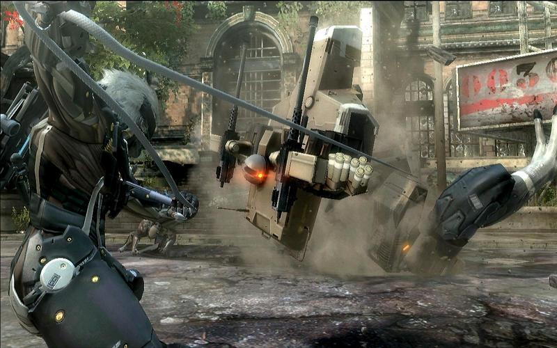 Metal Gear Rising - Revengeance (Mac screenshot 003)
