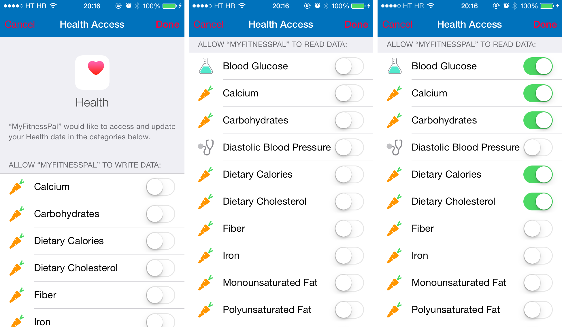 MyFitnessPal Calorie Counter and Diet Tracker 5.6.3 for iOS (iPhone screenshot 001)