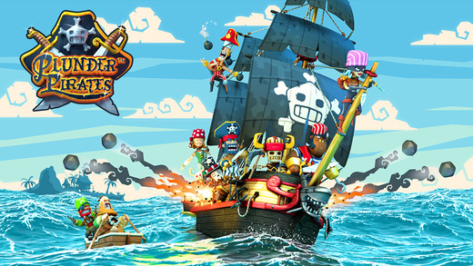 Plunder Pirates 1.0 for iOS (iPhone screenshot 001)