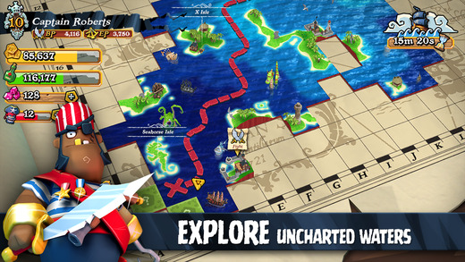 Plunder Pirates 1.0 for iOS (iPhone screenshot 003)
