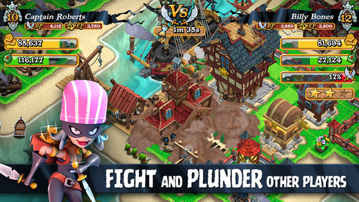 Plunder Pirates 1.0 for iOS (iPhone screenshot 004)