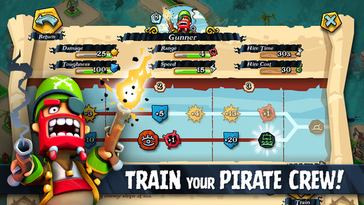 Plunder Pirates 1.0 for iOS (iPhone screenshot 005)