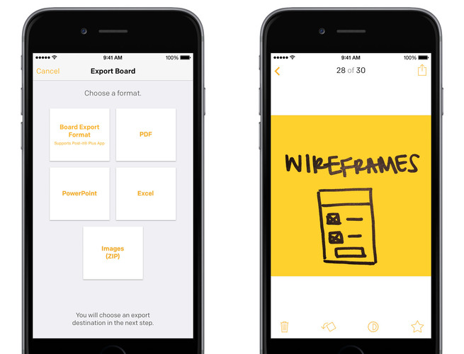 Post-it Plus 1.0 for iOS (iPhone screenshot 001)