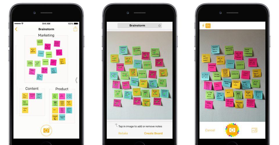 Post-it Plus 1.0 for iOS (iPhone screenshot 002)